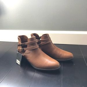 Forever 21 booties tan color